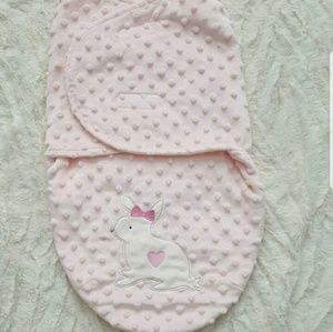 Other - Minky Dot Swaddle Blanket